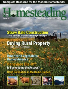 Flagship issue of New Homesteading Magazine
