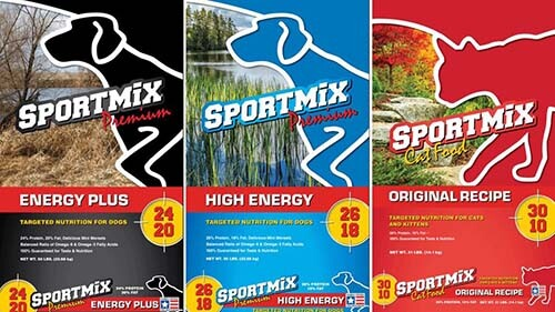 sportmix pet food bags in recall